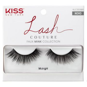 Cílios Postiços Kiss NY - Lash Couture Midnight - Pack Unit