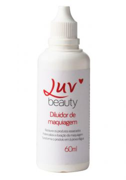 Diluidor de Maquiagem Luv Beauty - 60ml