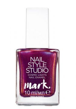 Esmalte Mark. Nail Style Cosmic Lights 10ml - Rosa Cintilan