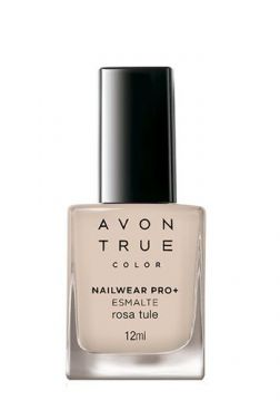 Avon True Color Nailwear Pro+ Esmalte - Rosa Tule