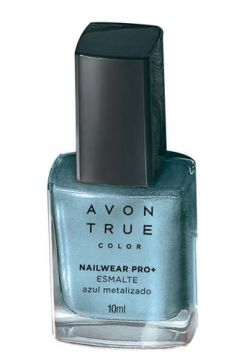 Esmalte True Color Nailwear Pro+ Metalizado 10ml - Azul Met