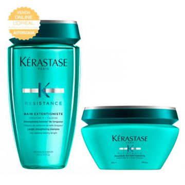 Kérastase Extentionist Kit - Shampoo + Máscara de Tratament
