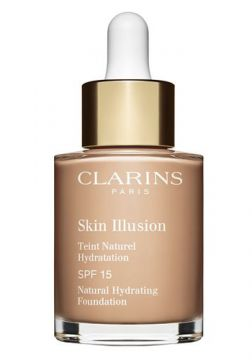 Base Líquida Clarins - Skin Illusion FPS 15