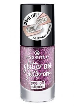 Esmalte Glitter On Glitter Off Peel Off Essence