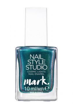 Esmalte Mark. Nail Style Cosmic Lights 10ml - Verde Cintila