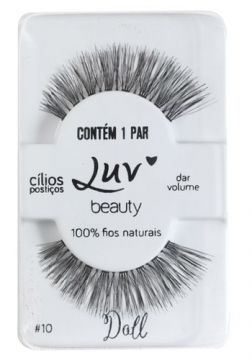 Cílios Postiços Luv Beauty - Luv My Lashes Doll - Pack Unit