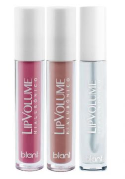 Blant Lip Volume Gloss Kit - Incolor + Nude + Rosa