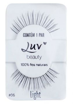 Cílios Postiços Luv Beauty - Luv My Lashes Light - Pack Uni