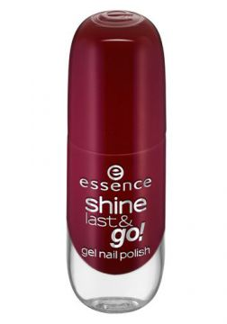 Esmalte Essence - Shine Last e Go Gel Nail Polish Tons Verm