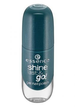 Esmalte Essence - Shine Last e Go Gel Nail Polish Tons Azul