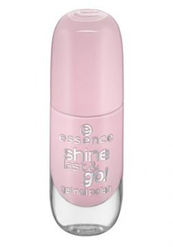Esmalte Essence - Shine Last e Go Gel Nail Polish Tons Rosa