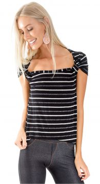 Blusa anel mangas - Lucy In The Sky