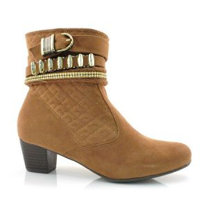 Ankle Boots Marrom Laserena