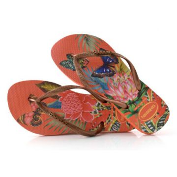 f167d43c49 Chinelo Havaianas Slim Tropical - S.tropical18 19