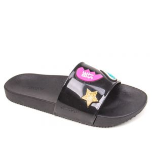 Chinelo Slide Zaxy 17333 Snap Gaspea - Patches