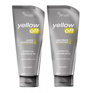 Yenzah Yellow Off Kit Shampoo e Condicionador Desamarelador