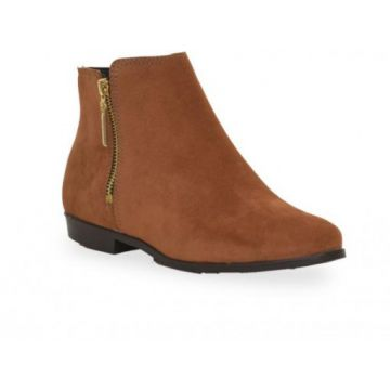 Bota Moleca Ankle Boot Cafe