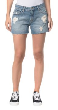 Short Jeans Five Pockets - Azul Claro - Calvin Klein