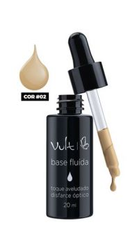 Base Líquida Fluida 02 20ml Vult