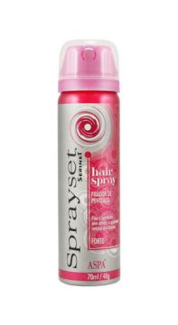 Spray Fixador Forte Sprayset 70ml Aspa