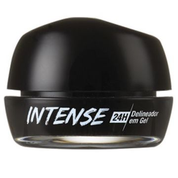 Delineador Gel Intense 24 Horas Preto 5g Rk By Kiss