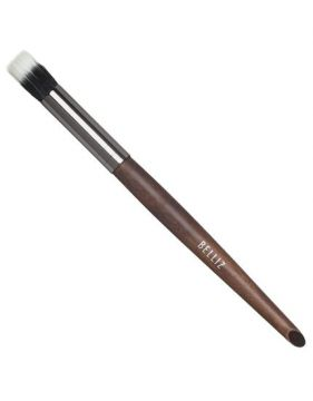 Pincel Para Sombra Duo Fiber Wood Ref 1935 Belliz