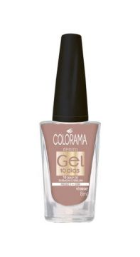 Esmalte Gel Tô Bege! 8ml Colorama