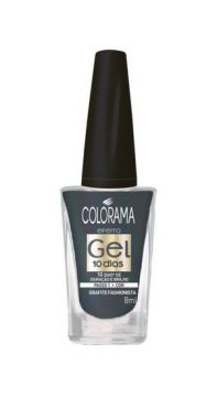 Esmalte Gel Grafite Fashionista 8ml Colorama