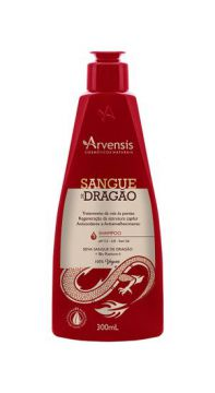 Shampoo Sangue De Dragão 300ml Arvensis