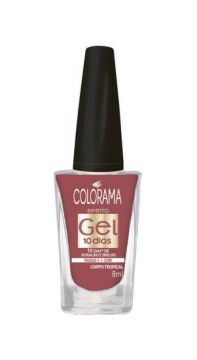 Esmalte Gel Corpo Tropical 8ml Colorama