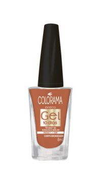 Esmalte Gel Corpo Bronzeado 8ml Colorama