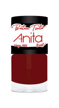 Batom Tinta Cereja 8ml Anita