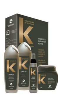 Kit Keratin Line Cauterização Capilar Soft Hair