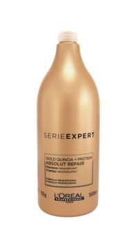Shampoo Absolut Repair Gold Quinoa + Protein 1500ml Loréal