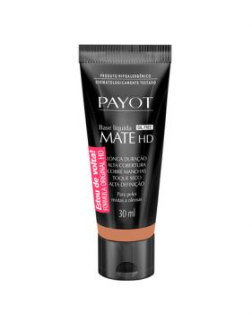 Base Líquida Mate Hd Bronze 30ml Payot