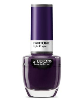 Esmalte Pantone Night Purple 9ml Studio 35