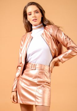 Saia Metallic Leather - La Mandinne