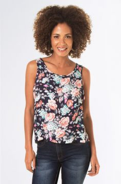 Blusa Estampada Alça Larga - Mercatto