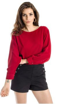 Blusa Cropped Lucidez