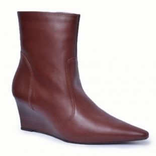 Bota Anabela Lady Choice - Marrom
