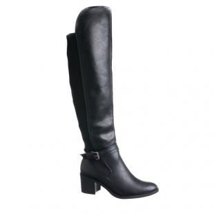 Bota Fivela Over The Knee Ramarim - Preto