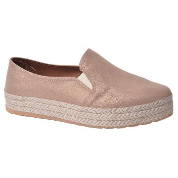 Oxford Flatform Lady Choice - Bege