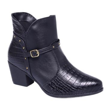 Bota Country Crm Lady Choice - Preto