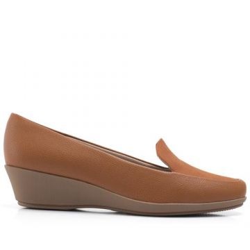 Sapato Loafer Anabela Liso - Piccadilly