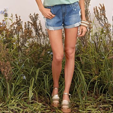 Short Denim Bordado