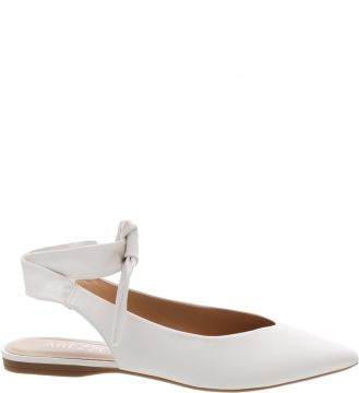 Sapatilha Lace Up Off White - Arezzo