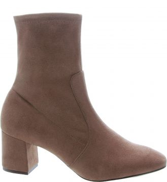 Skinny Boot Stretch Dark Blush - Arezzo