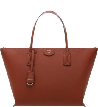Bolsa Shopping Grande Firenze Old Orange - Arezzo