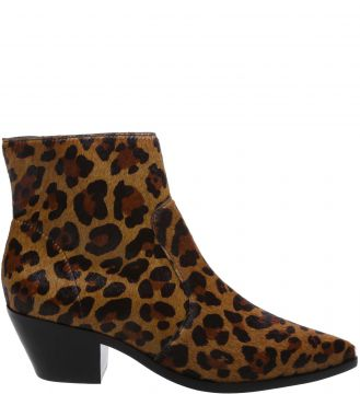 Ankle Boot West Animal Print - Arezzo