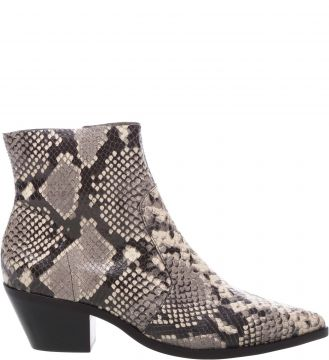 Ankle Boot Couro West Snake - Arezzo